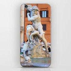 Poseidon - Piazza Navona iPhone & iPod Skin