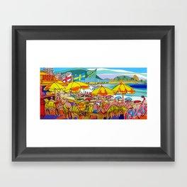 Copacabana - Rio de Janeiro Framed Art Print