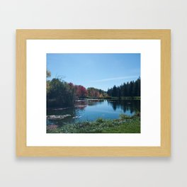 Fall Landscape Photography Print Framed Art Print