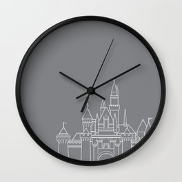 Sleeping Beauty's Castle // Disneyland Wall Clock