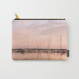 Pink sundown at the sea Carry-All Pouch