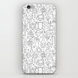 DnD Forever iPhone Skin