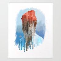 steve zissou Art Prints featuring Steve Zissou by Swancowski