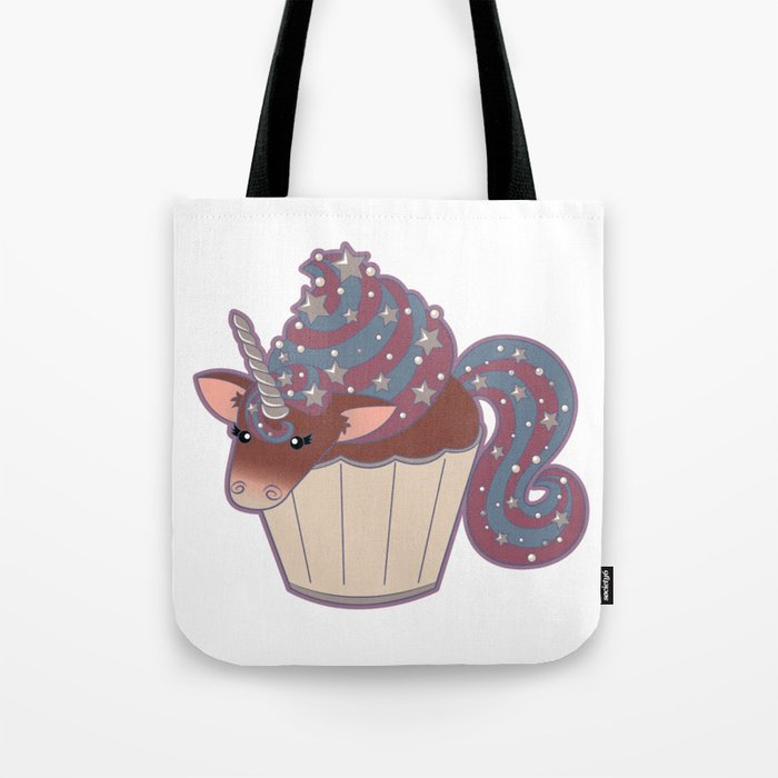 Cupcake Unicorn! Tote Bag