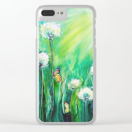 The color of summer Clear iPhone Case