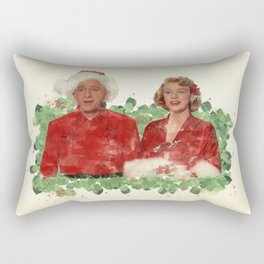 Bob & Betty (White Christmas) Rectangular Pillow