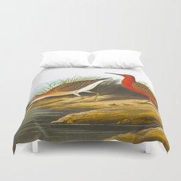 Pigmy Curlew Bird Duvet Cover