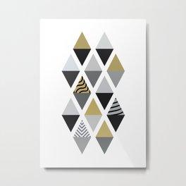 Scandinavian Geomatric 2 Metal Print
