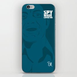 The Spy Who Loved Me iPhone Skin