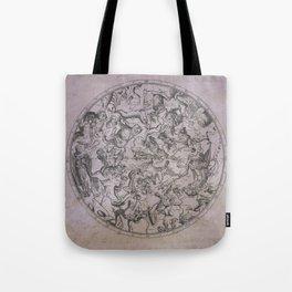 Vintage Constellations & Astrological Signs | Beetroot Paper Tote Bag