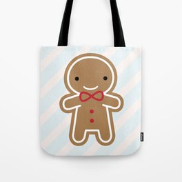 Cookie Cute Gingerbread Man Tote Bag