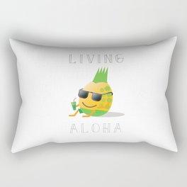 Living Aloha Rectangular Pillow