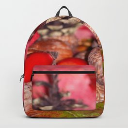 Hazelnuts in arbores autumnales Backpack
