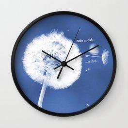 Make A Sundara Wish Wall Clock