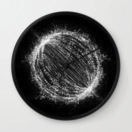 Planetary Explosion Wall Clock