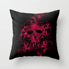 Death on Deep Space Throw Pillow