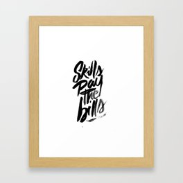 Motivational Framed Art Print