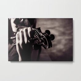 The Scroll Metal Print