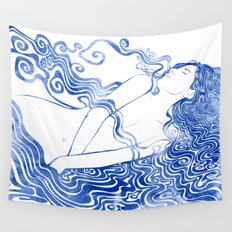 Water Nymph LXVII Wall Tapestry