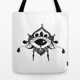 All Seeing Eye Bloom Tote Bag