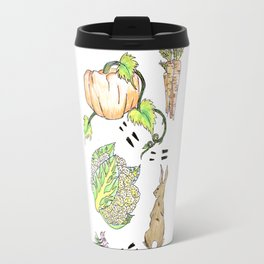 Bunny in The Veg Patch Travel Mug
