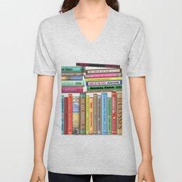 Banned Books Unisex V-Neck