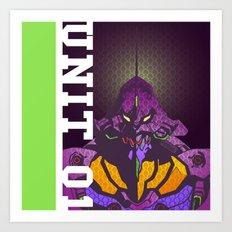 EVA-01 Art Print