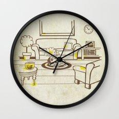 Greed - Mine, mine, all mine Wall Clock