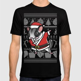 Sugar Glider Dabbing Ugly Christmas T-shirt