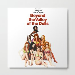 Russ Meyer's Beyond The Valley Of The Dolls Metal Print