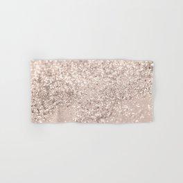 Blush Glitter Dream #4 #shiny #decor #art #society6 Hand & Bath Towel