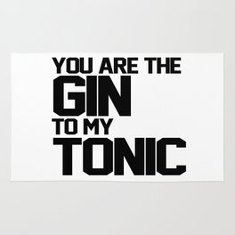 You Are The Gin To My Tonic Rug