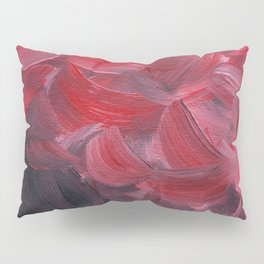 Red Petals Pillow Sham