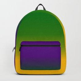 Mardi Gras Gradient 3597 Backpack