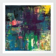 Rainbow Sunshine - Art Poster Print by Robert Erod Paintings Art Print
