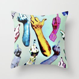 toes Throw Pillow
