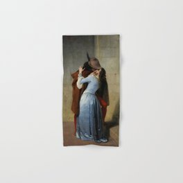 The Kiss (Il Bacio) - Francesco Hayez 1859 Hand & Bath Towel