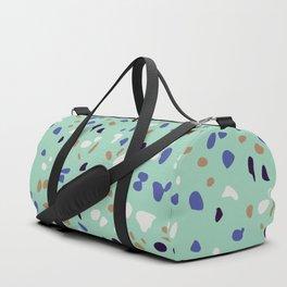 Italian Seafoam Terrazzo Duffle Bag