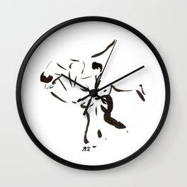 Aikido Series - 2 Wall Clock