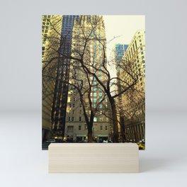 Tree versus Scraper #3 Mini Art Print