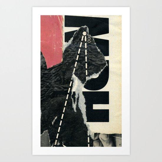 round trip Art Print