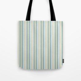 Beach house stripes Tote Bag