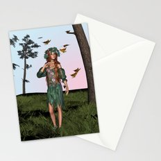 Spring and Butterflies Stationery Cards