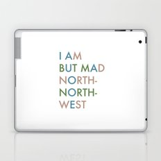 Shakespeare - Hamlet - I Am But Mad North-North-West Laptop & iPad Skin