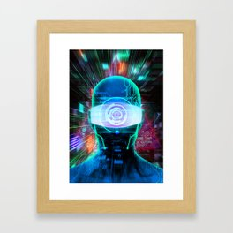 Vision 2077 Framed Art Print