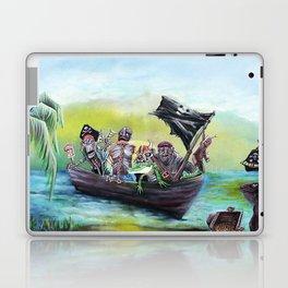 Pirate Booty Beach Laptop & iPad Skin