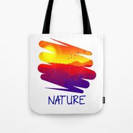 The Nature Retro Style bry Tote Bag