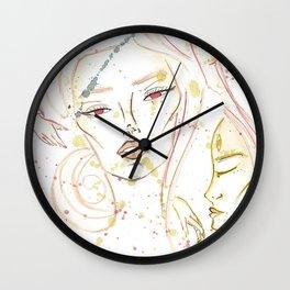 Dreaming Girl Wall Clock