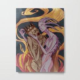 Fortune's Kiss Metal Print