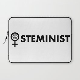 Steminist with symbol Laptop Sleeve